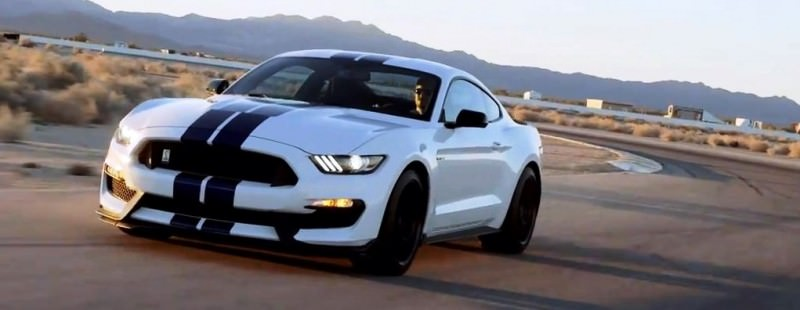 2016 SHELBY GT350 Mustang White 21