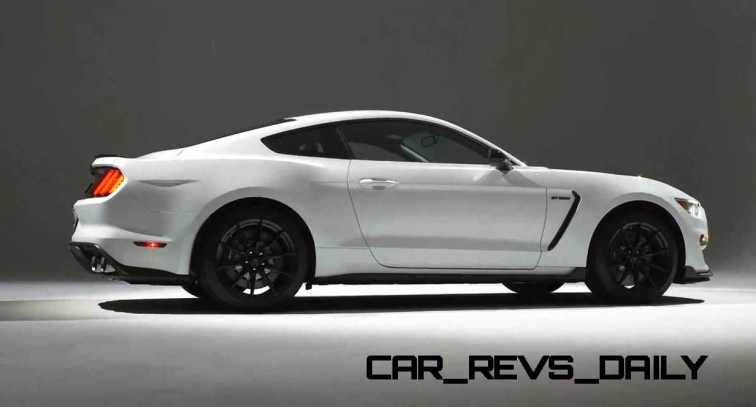 2016 SHELBY GT350 Mustang White 81