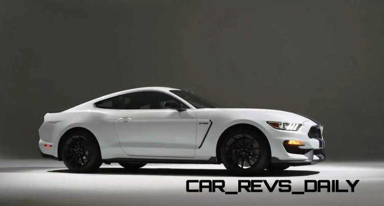 2016 SHELBY GT350 Mustang White 93