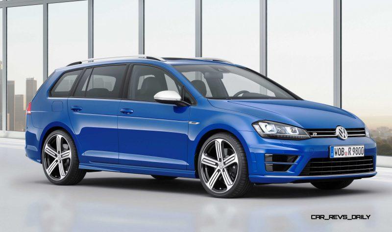 2016 Volkswagen Golf R Sportwagen 16