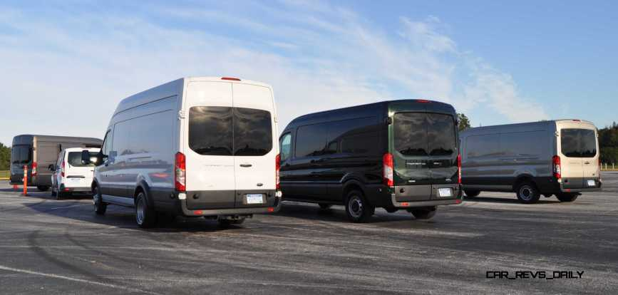 HD Track Drive Review - 2015 Ford Transit PowerStroke Diesel High-Roof, Long-Box Cargo Van 1