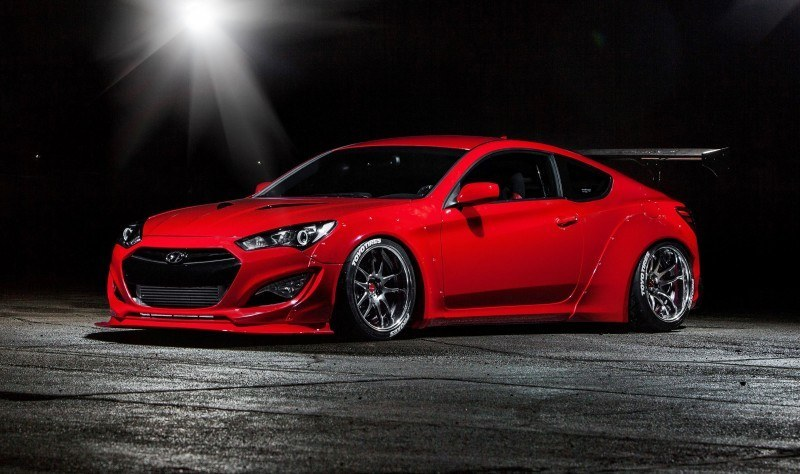 Hyundai Genesis Coupe by BloodType Racing 6