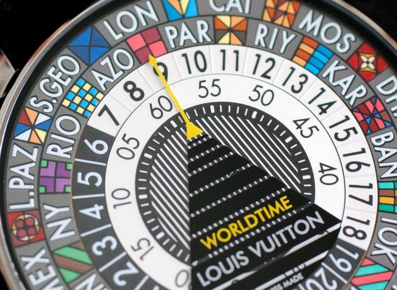 Louis Vuitton ESCALE Worldtime 8