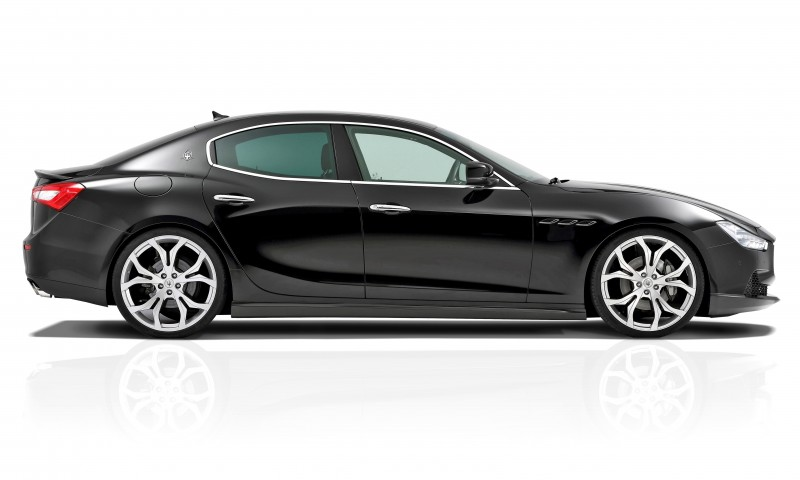 Novitec Tridente Maserati GHIBLI 8