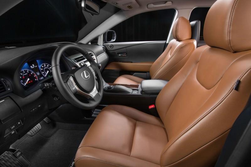 Road Test Review - 2015 Lexus RX350 AWD  5