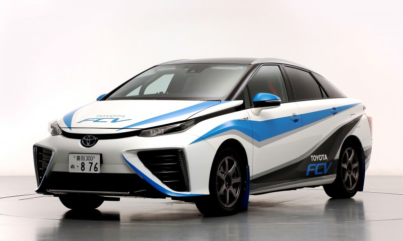 Toyota Mirai Rally Car 4