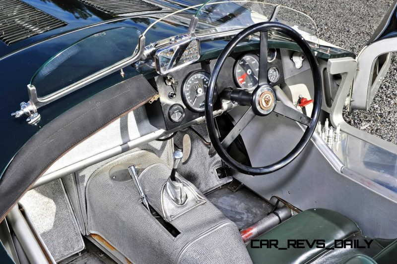 1952 Jaguar C-Type Le Mans Kettle Aerodynamic Recreation 13