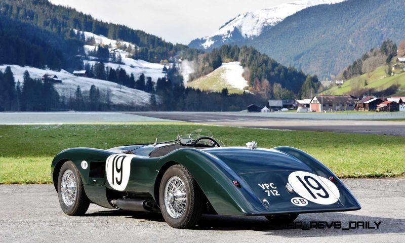 1952 Jaguar C-Type Le Mans Kettle Aerodynamic Recreation 2