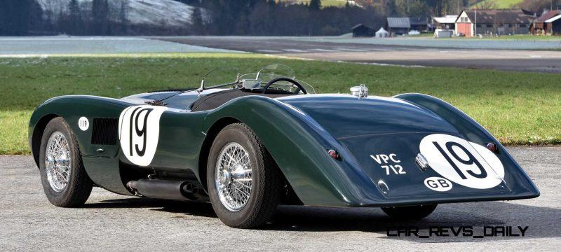 1952 Jaguar C-Type Le Mans Kettle Aerodynamic Recreation 2 - Copy