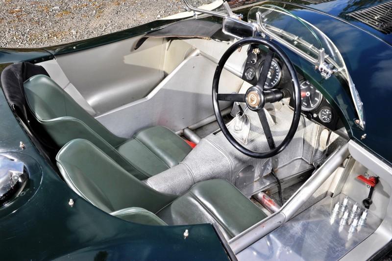 1952 Jaguar C-Type Le Mans Kettle Aerodynamic Recreation 3