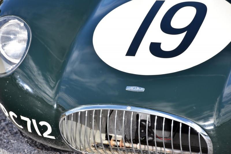 1952 Jaguar C-Type Le Mans Kettle Aerodynamic Recreation 6