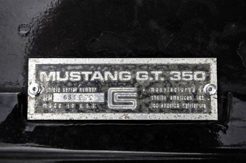 1966 Shelby Mustang GT350 6