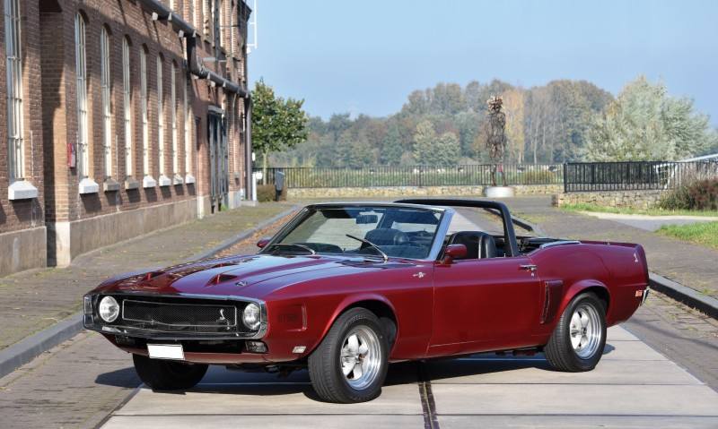 1969 Shelby GT500 Convertible 1