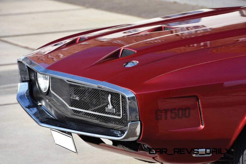 1969 Shelby GT500 Convertible 8