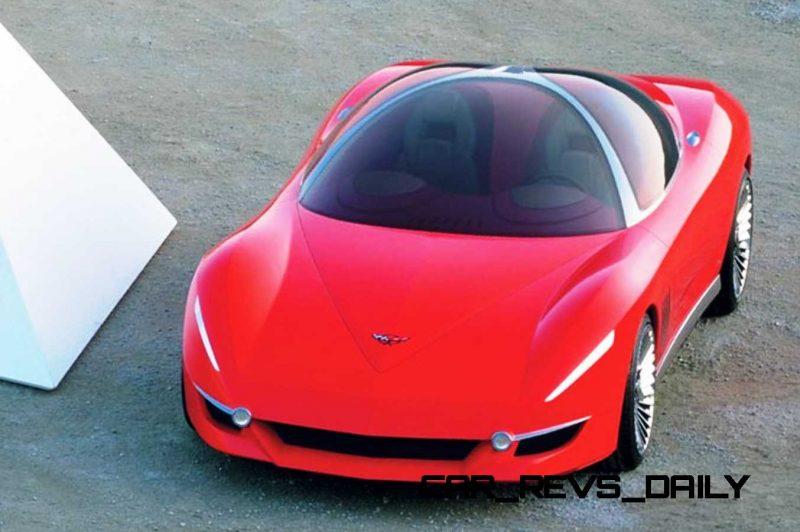 2003 ItalDesign Moray Corvette By Giugiaro 30