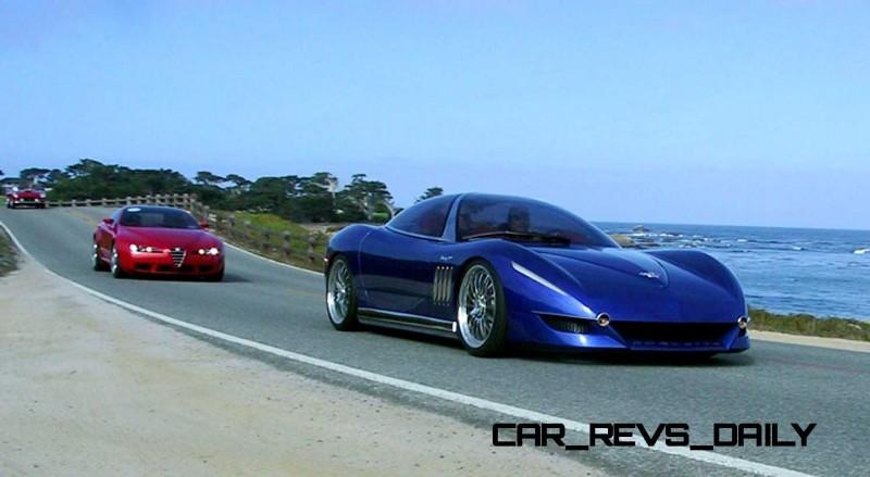 2003 ItalDesign Moray Corvette By Giugiaro 33