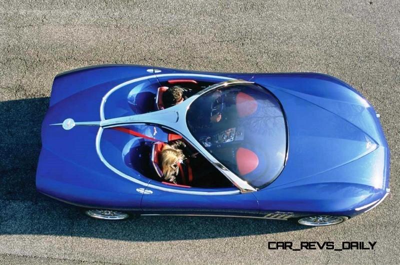 2003 ItalDesign Moray Corvette By Giugiaro 7