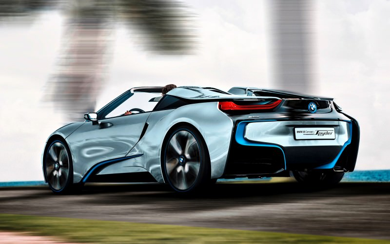 2012 BMW i8 Concept Spyder 42