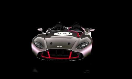 2013 Aston Martin CC100 Speedster COLORIZER red89