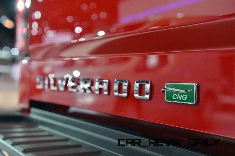 2015 Chevrolet Silverado HD CNG Chicago 2014 Photos (10)
