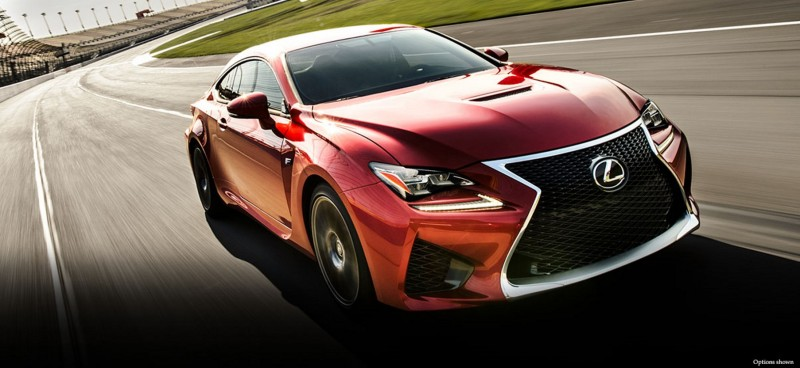 2015 Lexus RC F Colors and Wheels Visualizer 14