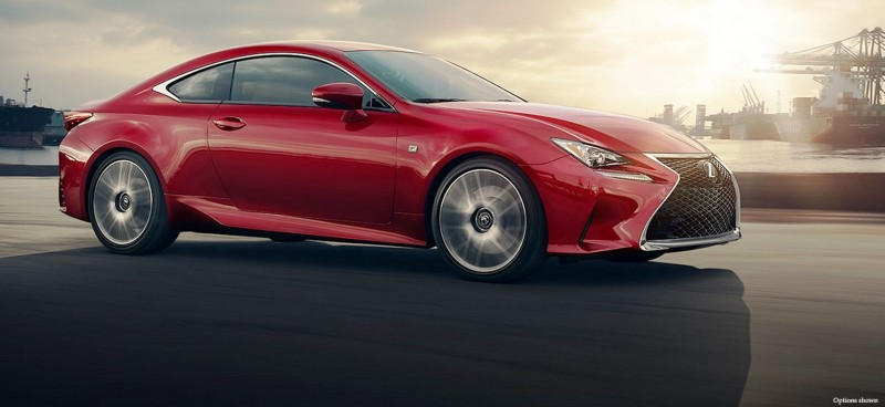 2015 Lexus RC F Colors and Wheels Visualizer 18