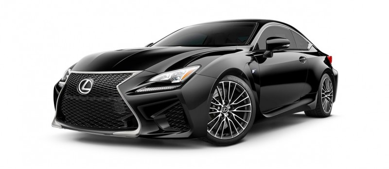 2015 Lexus RC F Colors and Wheels Visualizer 21
