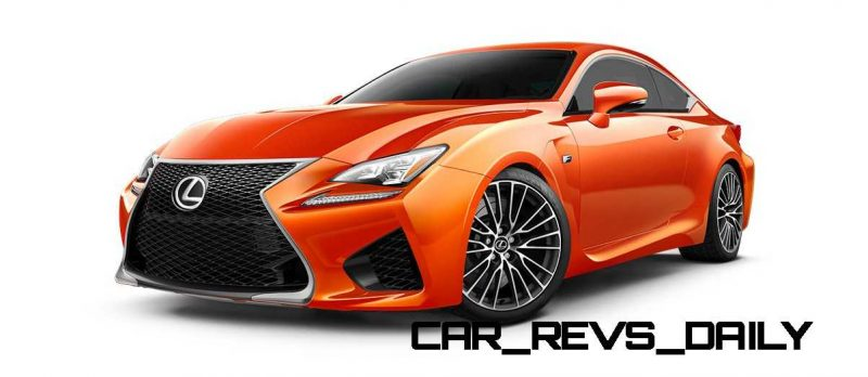 2015 Lexus RC F Colors and Wheels Visualizer 23