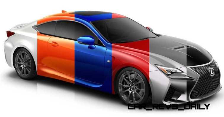 2015 Lexus RC F Colors and Wheels Visualizer 38_001-horz