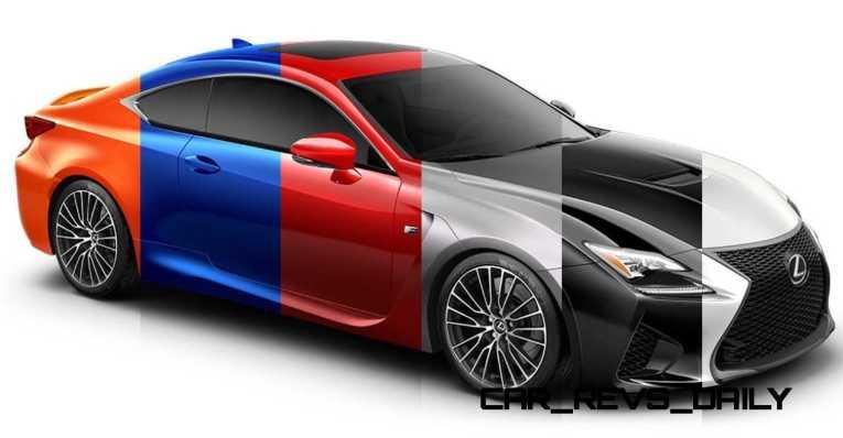2015 Lexus RC F Colors and Wheels Visualizer 39_001-horz