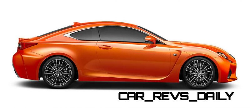 2015 Lexus RC F Colors and Wheels Visualizer 46