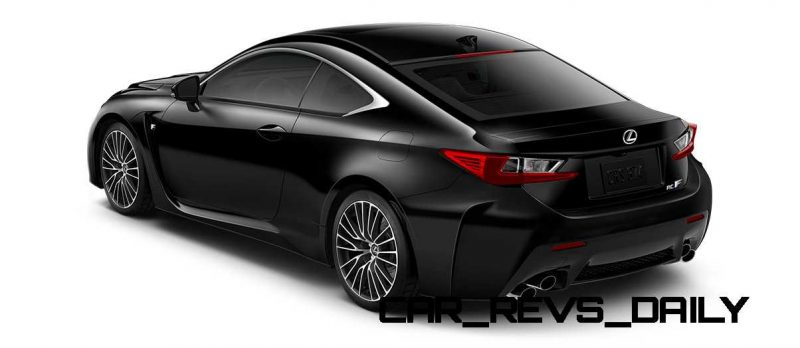2015 Lexus RC F Colors and Wheels Visualizer 51