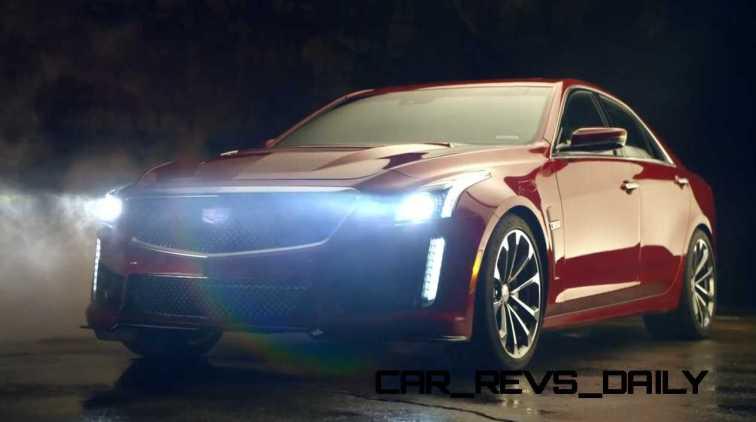 2016 Cadillac CTS Vseries Video Stills 81