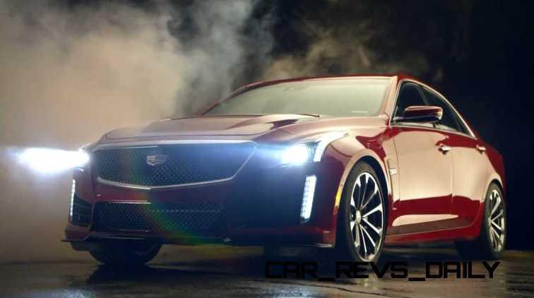 2016 Cadillac CTS Vseries Video Stills 90