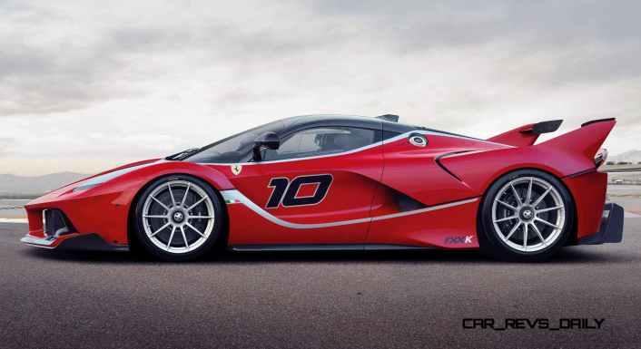 2016 Ferrari FXX K Revealed Ahead of Abu Dhabi Ferrari World Debut 2