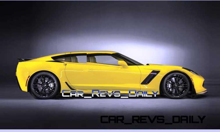 Chevrolet Corvette Z06 Sedan Draft Layers 4