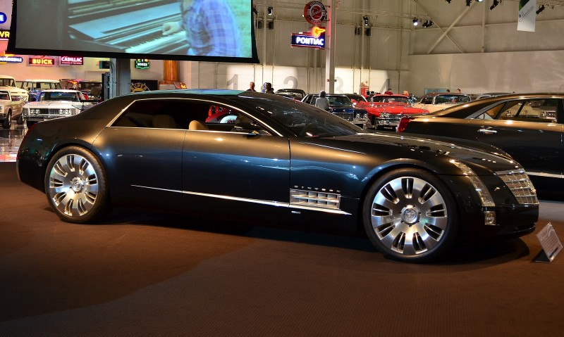 Concept Flashback - 2003 Cadillac Sixteen Hoped to Join $100k+ Limo Segment 21