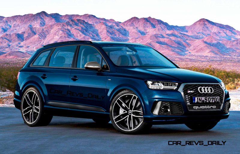 Future SUV Renderings - 2016 Audi RS Q7  8