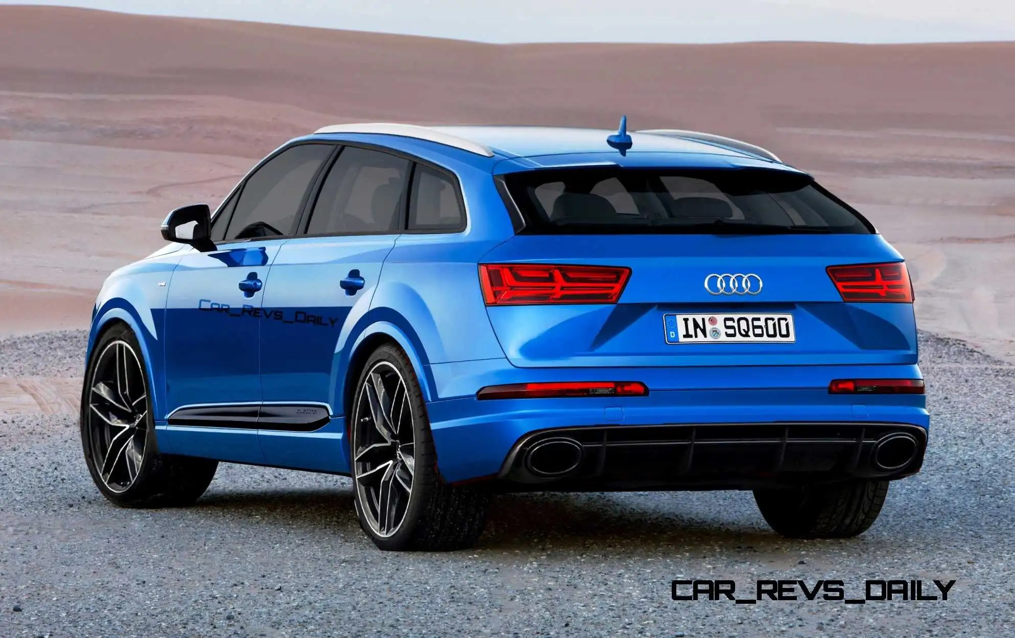hight resolution of 2017 audi q6 rendering