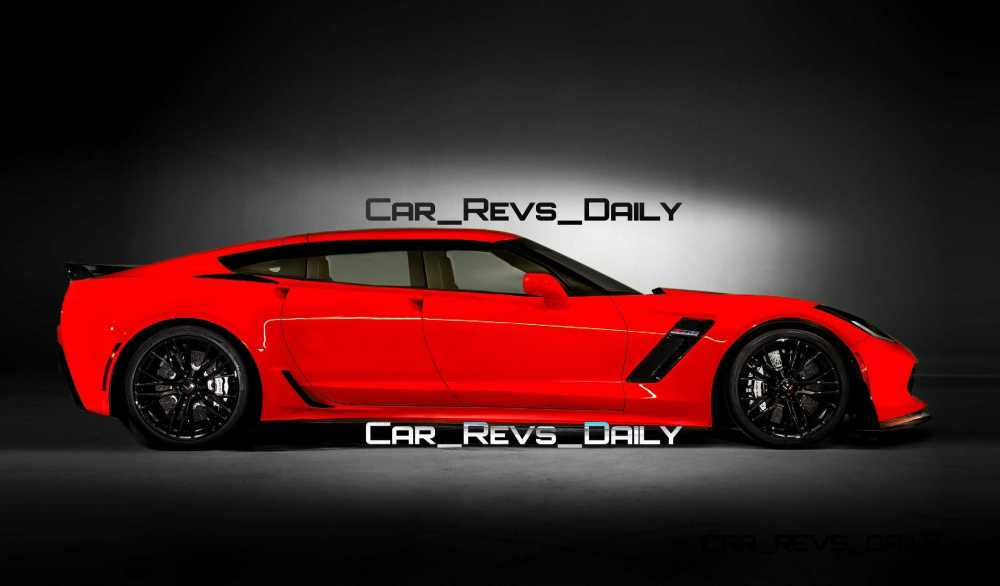 medium resolution of future supercar renderings 2017 chevrolet corvette z06 sedan 1