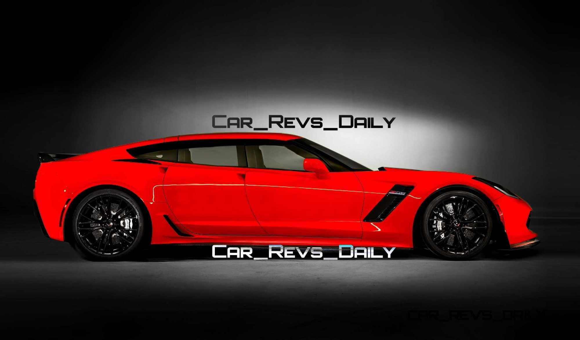 hight resolution of future supercar renderings 2017 chevrolet corvette z06 sedan 1