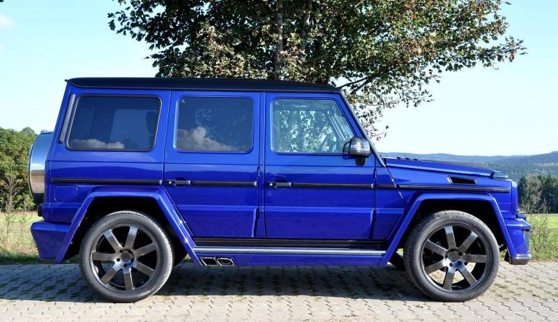Mercedes G-Class Widebody by German Special Customs18