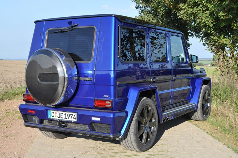 Mercedes G-Class Widebody by German Special Customs5