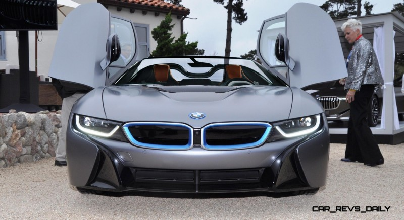 Spec Renderings - 2016 BMW i8 Spyder 2