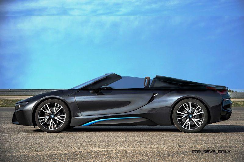Spec Renderings - 2016 BMW i8 Spyder 3