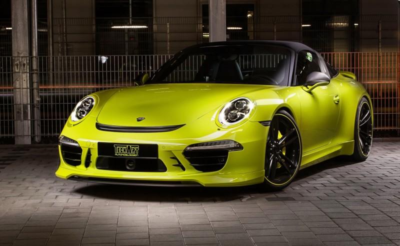 TechArt Porsche 911 Targa4 4