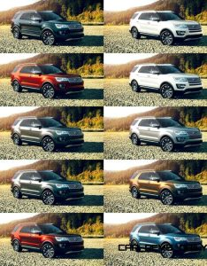 also ford explorer colors rh car revs daily