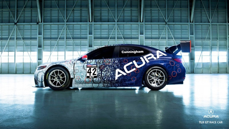 2015 Acura TLX GT Racecar Boosts Off 2015 TLX Lanuch with 500Hp Twin-Turbo SH-AWD 11