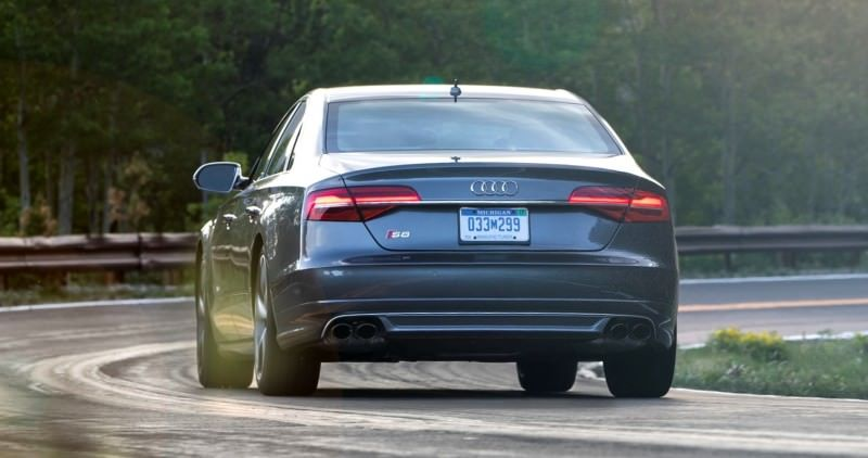 2015 Audi S8 with 520HP and 3.9s to 60MPH Is Quickest and Definitely The Coolest A8  10