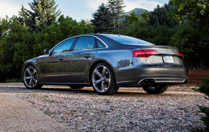 2015 Audi S8 with 520HP and 3.9s to 60MPH Is Quickest and Definitely The Coolest A8  36